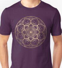 Mandala Night Blue Unisex T-Shirt