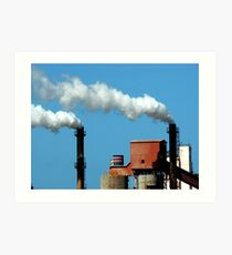 Steelworks, Whyalla Art Print