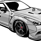 GT-R R35 wide body by xEver