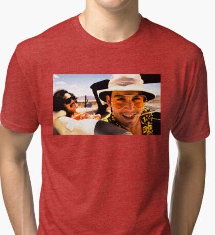 Miedo y asco en Las Vegas - Arte Camiseta de tejido mixto