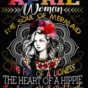 APRIL WOMAN THE SOUL OF A MERMAID HEART by Thanada