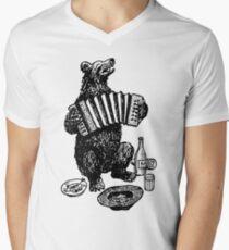 Sing for my Supper Men's V-Neck T-Shirt