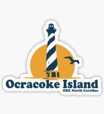 Ocracoke Island - OBX. Sticker