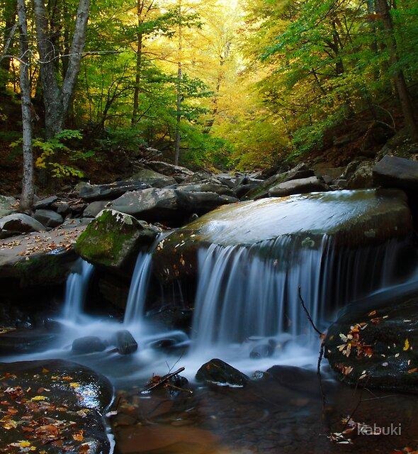 Kaaterskill Falls by kabuki