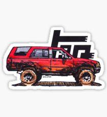 1st Gen 4Runner TRD - Red Sticker