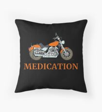 Motorcycle T-Shirt: MEDICATION  Bodenkissen
