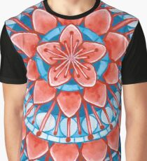 Frosted Cherry Blossom Graphic T-Shirt