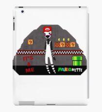 Mario-nette iPad Case/Skin