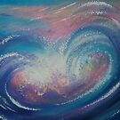 Wave Particles 1 by Krystyna Spink