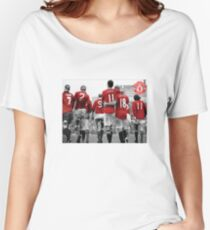 Manchester United Women's Relaxed Fit T-Shirt