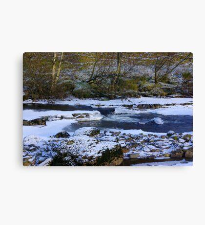 River Swale at Keld,North Yorkshire. Canvas Print