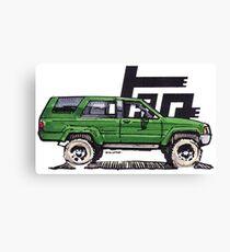 1st Gen 4Runner TRD - Green Canvas Print
