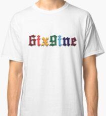 6ix9ine Tekashi Rapper Colours Classic T-Shirt