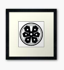 Factions symbol flower Framed Print