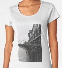on the fence Women's Premium T-Shirt