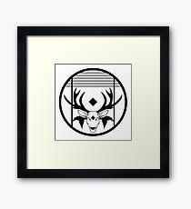Faction symbol buck Framed Print