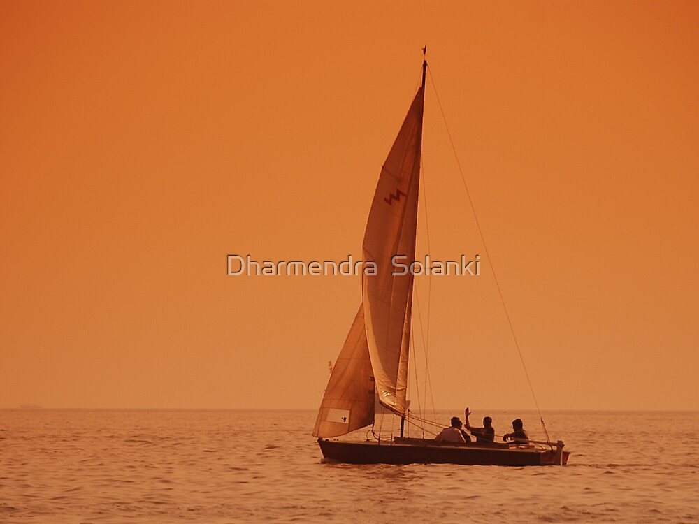 BOAT RIDE by Dharmendra  Solanki