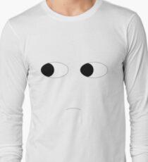 Statue face Long Sleeve T-Shirt
