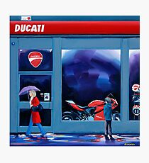 Ducati Sogni D'Infanzia ( Ducati Childhood Dreams) Photographic Print