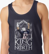 Tom Brady King Of The North New England Patriots Football Shirt Tank Top