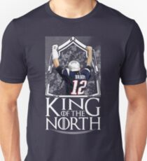 Tom Brady King Of The North New England Patriots Football Shirt Unisex T-Shirt
