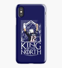 Tom Brady King Of The North New England Patriots Football Shirt iPhone Case/Skin