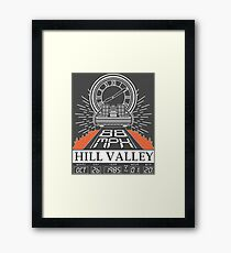 Twin Pines Mall Framed Print