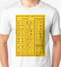 An illustrated guide to the world of Beer Unisex T-Shirt