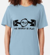 The World Is Flat Slim Fit T-Shirt