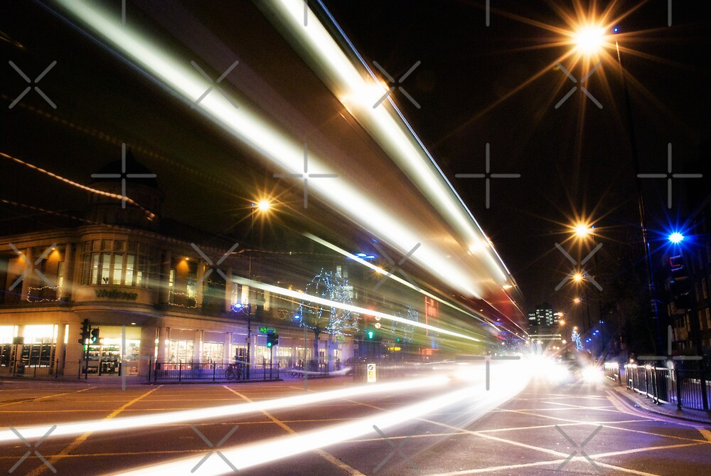 nightbus (The Holloway Road) by Umbra101