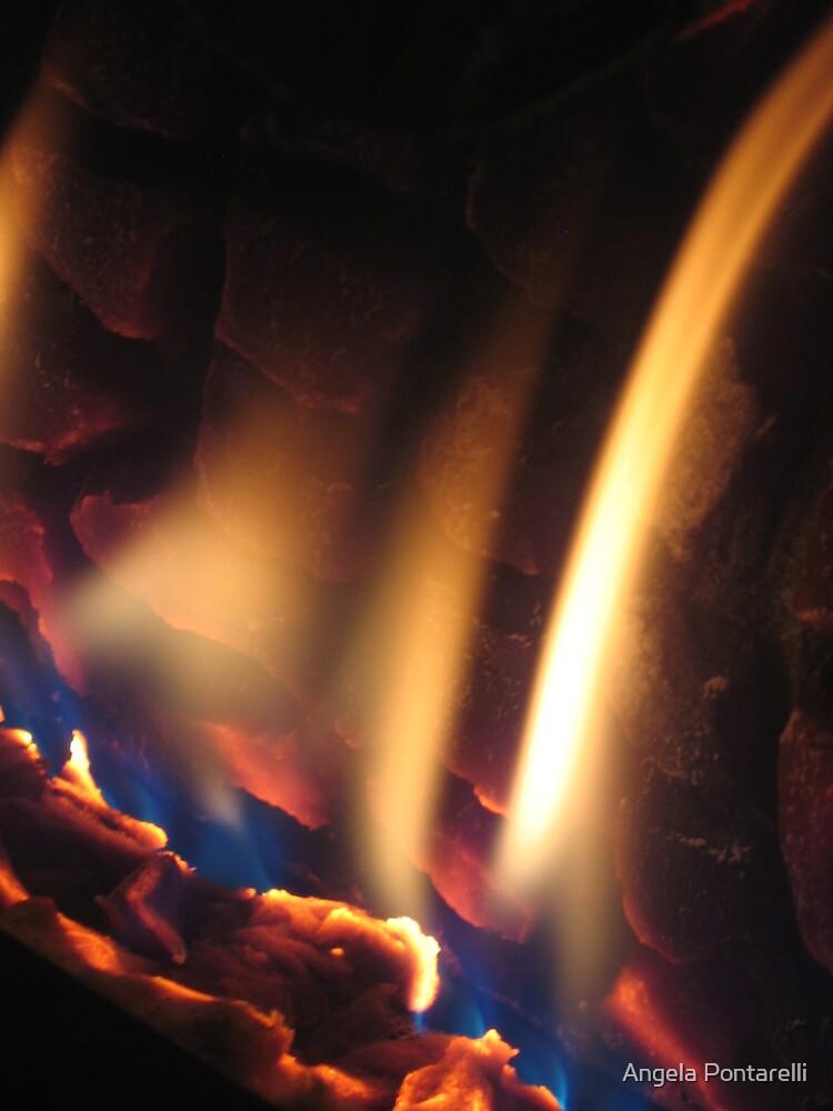fire by Angela Pontarelli