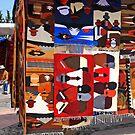 Otavalo Market by Sue  Cullumber