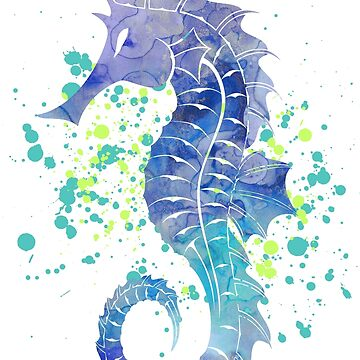 Seahorse by lotuscrusade