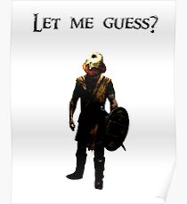 Let me guess? Poster