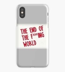 The End Of The F***ing World iPhone Case/Skin
