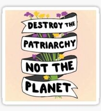 Image result for destroy the patriarchy not the planet