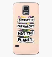 Funda/vinilo para Samsung Galaxy Destruye el patriarcado, no el planeta