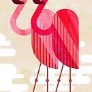 Flamingos by Scott Partridge