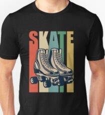 Roller Derby Retro Design - Skate Unisex T-Shirt