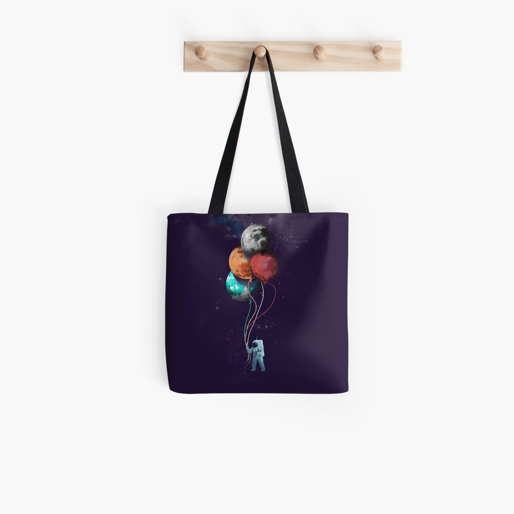 The Spaceman's Trip Tote Bag
