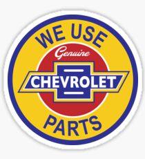 Genuine Parts - Chevy Sticker