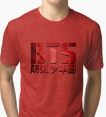 BTS_RED style Tri-blend T-Shirt