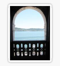 Lisbon, 2011, The Tower of Belem Sticker