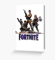 Fortnite Image Greeting Card
