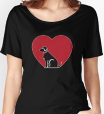 Love German Shorthair Pointer Women's Relaxed Fit T-Shirt
