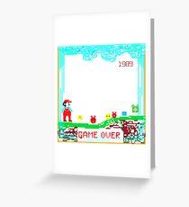 Retro game Greeting Card