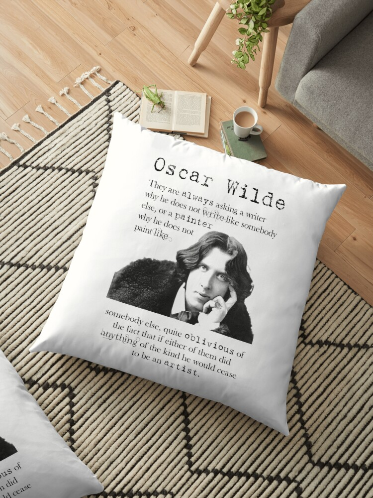 Oscar Wilde Writer Gift Art Quote by NabuOnline