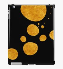 "Vinilo o funda para iPad ""Golden dots & black background"""