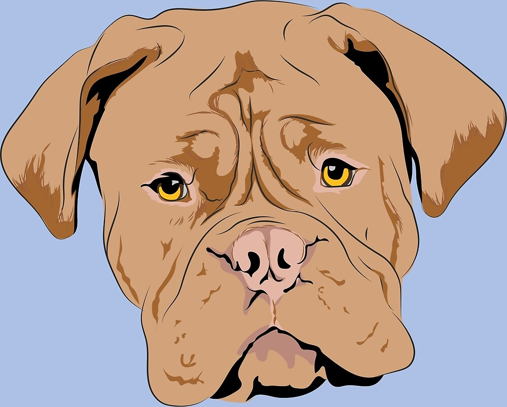 Squishy Dogs - Dogue de Bordeaux by Felithina