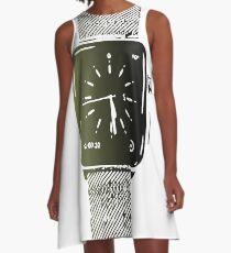 Apple watch digital art A-Line Dress